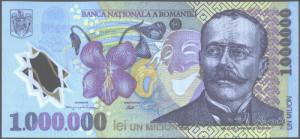 bancnota 1000000 lei